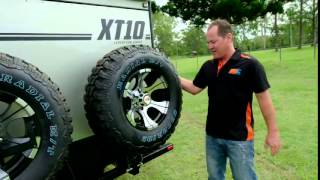 XT10 CARAVAN  WALKTHROUGH WITH KENNO MDC CAMPER TRAILER TESTER