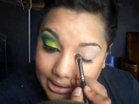 carnival makeup ideas. Carnival Series: Chartruse