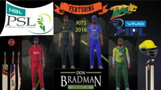 Download Don Bradman 14: How to get Mods, Kits, Leagues (IPL,BPL, PSL) for PC 3Gp Mp4