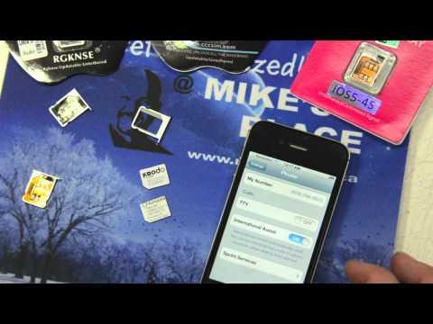 iPhone 4S Gevey Unlock 5.0.1 3 Different Gevey SIM Review TEST FAILED!