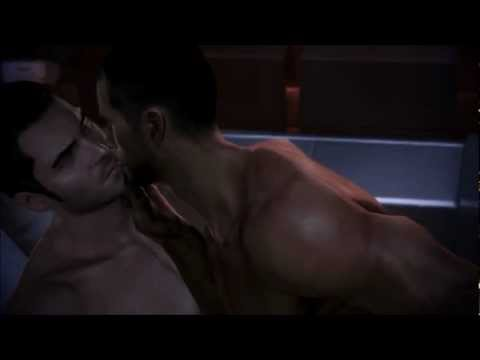 Mass Effect 3 Male Shepard and Kaidan romance ( sex scene ) part 2