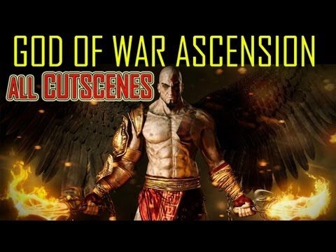 God of War Ascension - all cutscenes HD MOVIE Every cutscene in order god of war 4 all cutscenes HD