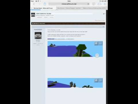 Comment installer une map sur minecraft pe?