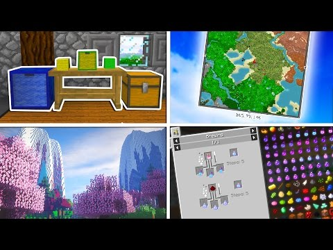 5 Minecraft MODS You NEED to Have!!