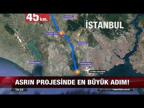 Kanal İstanbul'da güzergah tamam! - 15 Ocak 2018