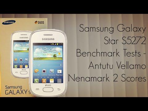 Samsung Galaxy Star S5272 Benchmark Tests - Antutu Vellamo Nenamark 2 Scores