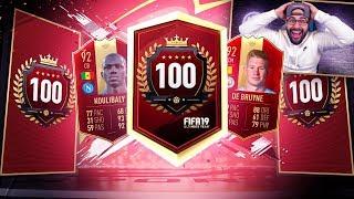 YES! I GOT AWESOME REWARDS!! TOP 100 REWARDS! FIFA 19 Ultimate team RTG