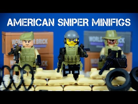 The American Sniper/Anti-Terrorism Unofficial LEGO Minifigures Special Forces Building Blocks