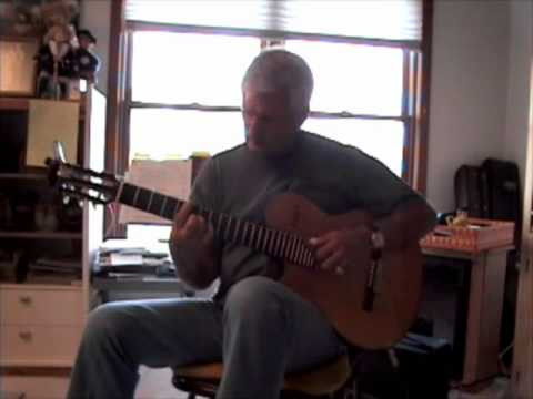 Stan Karaban Performs One Note Samba (Jazz Guitar)