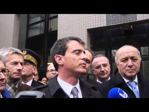 Le Premier ministre Manuel Valls à l'Université de Rouen