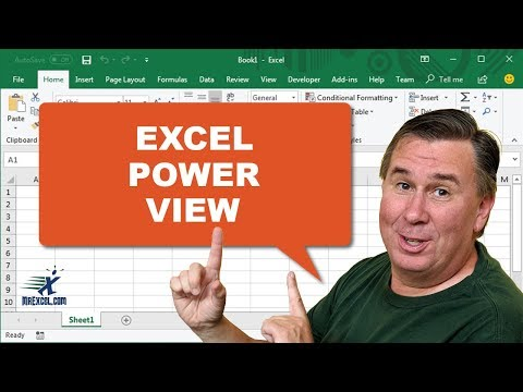Power View in Excel 2013 - Learn Excel 2013: Podcast #1634