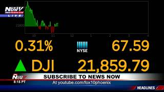 FNN: Dow closes up than 1,000 points while government still partially shutdown