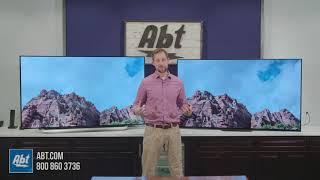 Sony A8F vs LG C8P OLED TV Comparison
