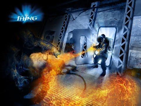 The Thing (2002) (PC) Game - Walkthrough - Transit Hangar I - Armory - 10-18-14