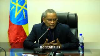 Ethiopian Minister DebreTsion Gebremichael talks about current issues