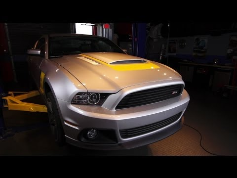 2014 Roush Stage 3 Ford Mustang - C/D Underbelly