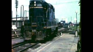 The Wabash Railroad at Decatur 1960