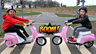 Power Wheels Ride On Bike Surprise Toys - Playground Family Fun | Toys AndMe