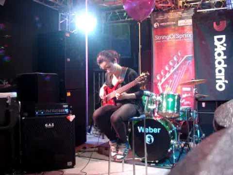 Элеанора Айрапетян. Бас-гитара. Второе выступление на конкурсе StringOfSpring