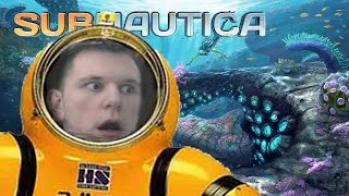 STRANDED UNDERWATER with MUTANT FISH!! | Subnautica #1