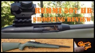 "Remington 597 Heavy Barrel Shooting Review - ""Lovin"