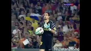 Jose Manuel Pinto Funny Goal Keeper of Barcelona.mp4