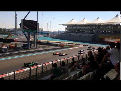 GP F1 Abu Dhabi 2014 - Course GP2 & GP3 - Tribune West 7