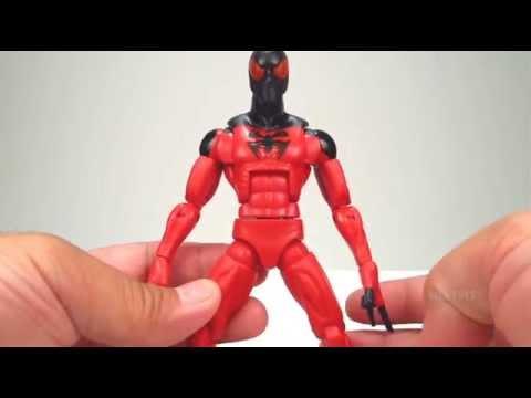 Marvel Legends Rocket Raccoon Series Scarlet Spider Quick Review