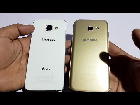 Samsung Galaxy A5 (2017) vs A5 (2016) Speed and Performance Test [Urdu/Hindi]