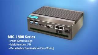 Palm-Sized DAQ Embedded Computer, MIC-1800 Series, Advantech (EN)