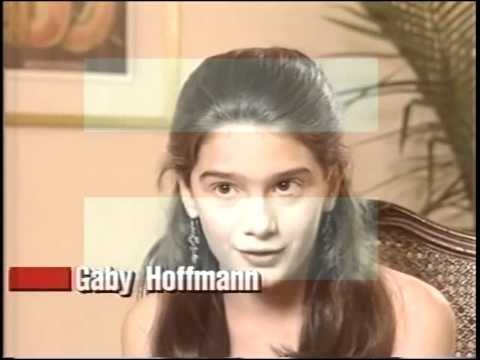 Gaby Hoffman brief interview. Age 11. 1994