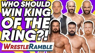 Who Should WIN WWE King Of The Ring 2019? | WrestleTalk's WrestleRamble