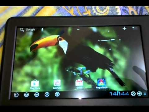 Unboxing Tablet DL HD7