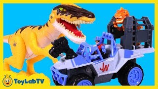 Jurassic World Dinosaur Toys and Playskool Heroes