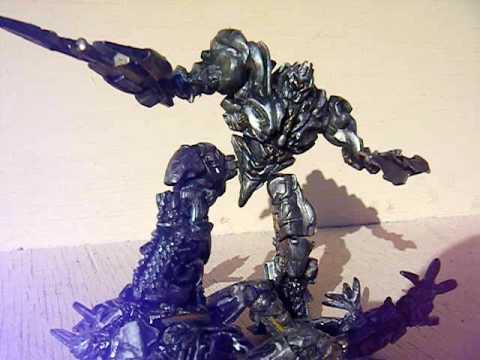 Repaint of Megatron robot replica