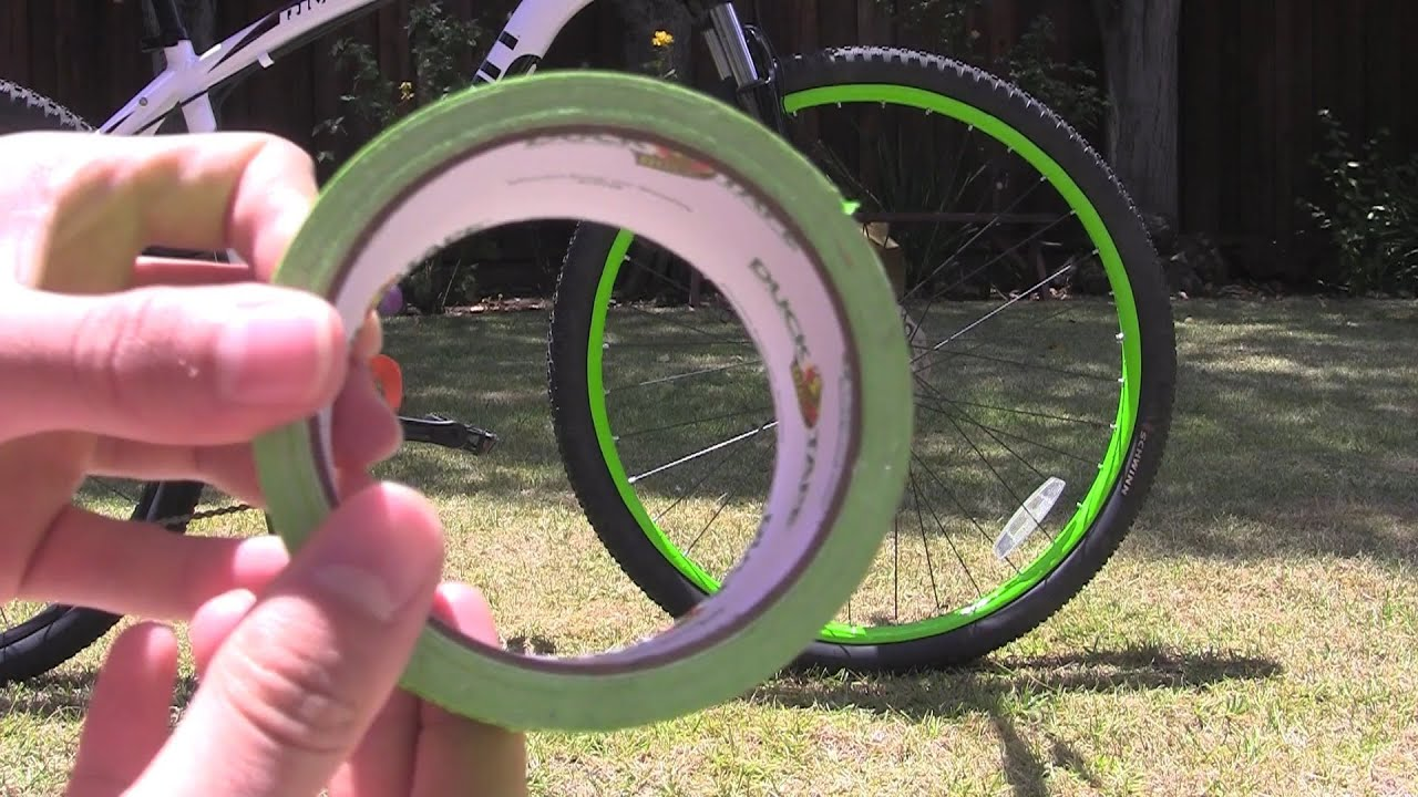 How To Remove Paint From Bicycle Rims