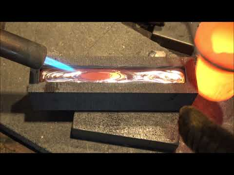Pouring an 11 oz Silver Bar - SOLD!! (I take comissions if you want one similar!)