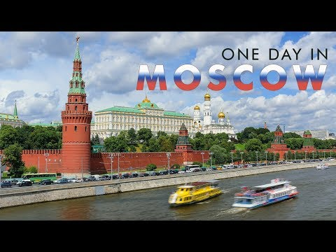 Москва, Россия | One Day in MOSCOW - Timelapse / Hyperlapse project | City of FIFA 2018 World Cup