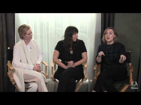 Saoirse Ronan Nikole Beckwith & Cynthia Nixon: 'Stockholm, Pennsylvania' - LA Times [ Sundance 2015]