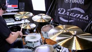 Diego Contreras playing Formula 602 Modern Essentials Cymbals