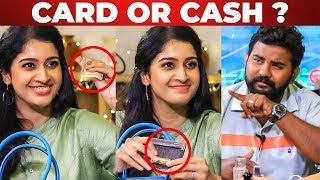 Card or Cash? Tanya's Funny Reply to VJ Ashiq | What's Inside your Handbag