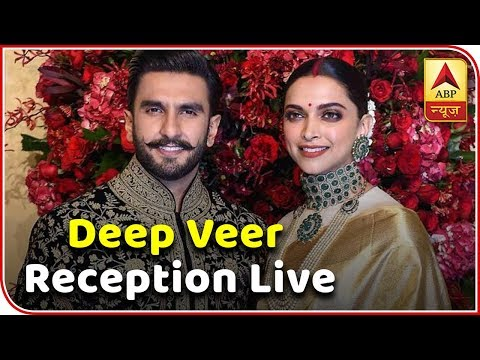 First Video Of Deepika-Ranveer Posing At Wedding Reception | ABP News