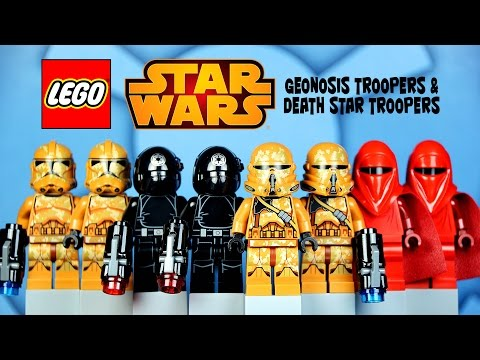 LEGO Star Wars Geonosis Troopers 75089 & Death Star Troopers 75034 Battlepack