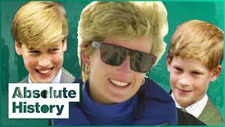 The Story Of Prince William And Prince Harry's Childhood | Absolute History