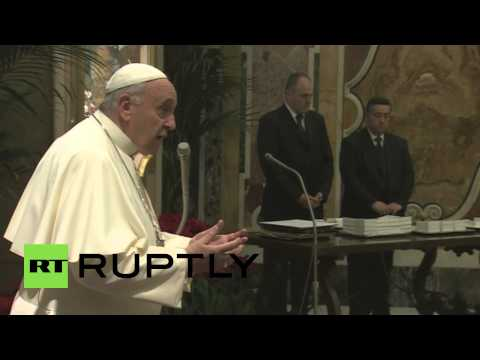 Vatican City: Pope thanks
