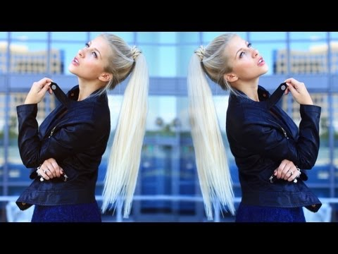High Fashion Ponytail {Easy}