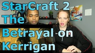 StarCraft 2 The Betrayal on Kerrigan Cinematic Full HD (Reaction 🔥)