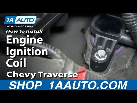 How To Install Replace Engine Ignition Coil 2009-14 Chevy Traverse
