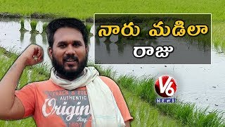 Gappala Raju In Agriculture Field Work | Raju Conversation With Padma | Teenmaar News