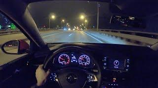 2019 Volkswagen Jetta 1.4T S (6MT) Night Drive - POV First Impressions